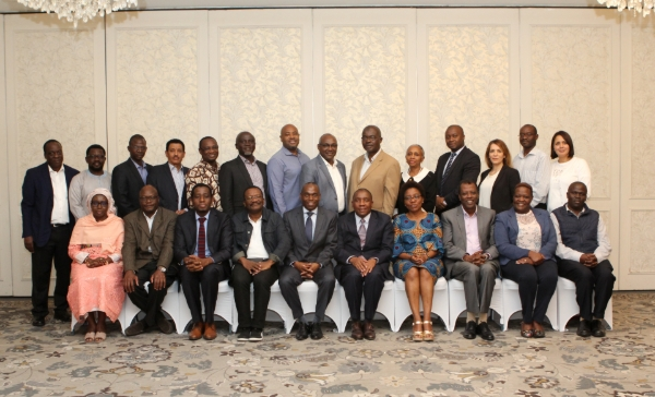 African Development Bank Staff Equipped with SAI PMF tool