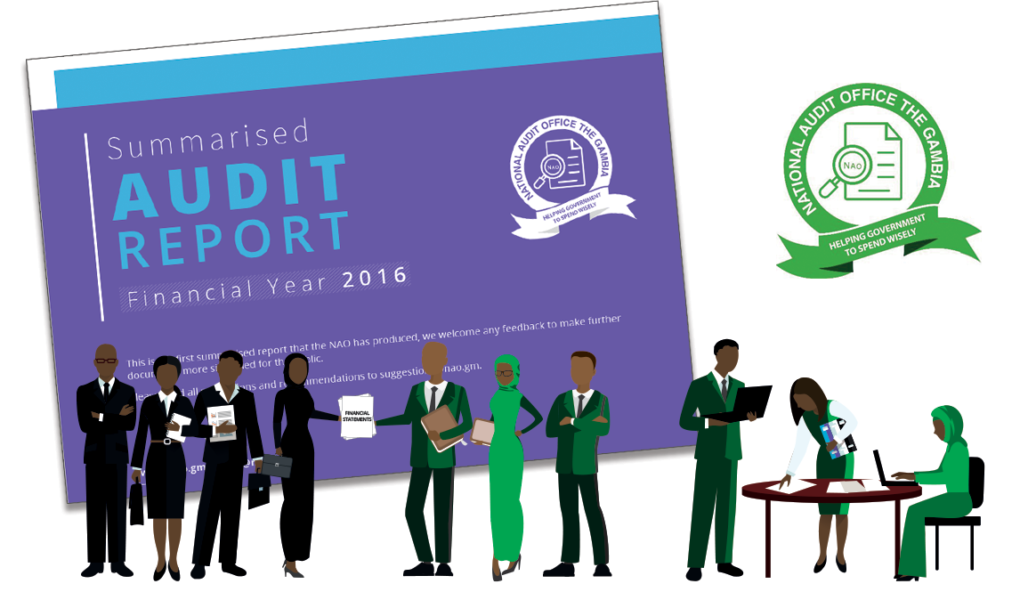 National Audit Office of The Gambia launches first ever summarised audit report