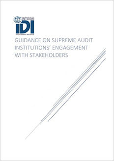 Guidance on Supreme Audit Institutions' Engagement with Stakeholders Cover