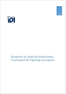 Guidance on Audit of Institutional Framework for Fighting Corruption Cover