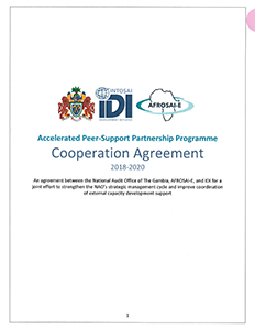 PAP-APP The Gambia Cooperation Agreement cover
