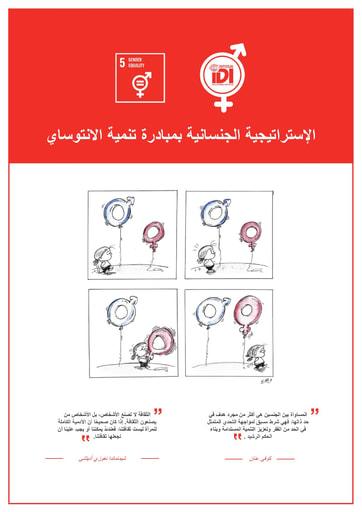IDI Gender Strategy Arabic