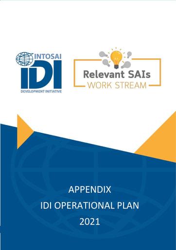 IDI OP 2021 Relevant SAIs